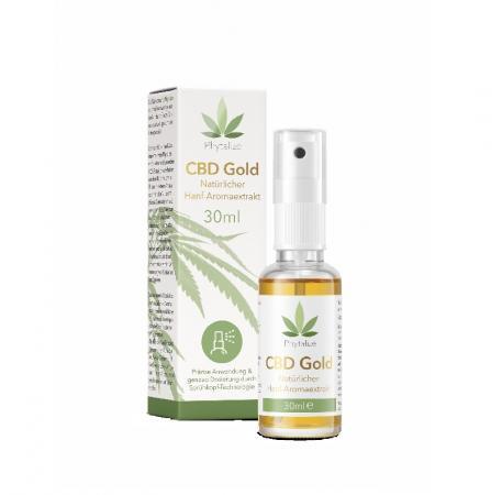 CBD Gold Hanf-Aromaextrakt 30ml