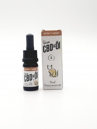 Vetrihemp – Bio CBD Öl für Katzen 4 %