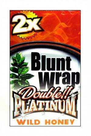 Blunt Wraps GOLD Double Premium (Wild Honey)